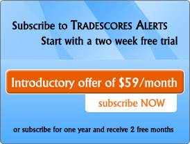 Sign Up For Tradescores Alerts